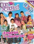 Andres Gil, Micaela Riera, Michel Noher, Natalí Pérez on the cover of Consentidos (Argentina) - November 2009