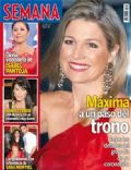 Princess Máxima of the Netherlands on the cover of Semana (Spain) - April 2013