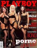 Dagmar Kozelkova (Dasha), Kira Kener, Tera Patrick on the cover of Playboy (Czech Republic) - May 2002