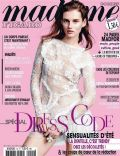 Giedre Dukauskaite on the cover of Madame Figaro (France) - April 2014