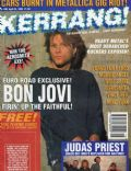 Jon Bon Jovi on the cover of Kerrang (United Kingdom) - April 1993