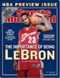 LeBron James on the cover of Sports Illustrated (United States) - October 2003
