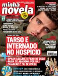 Bruno Gagliasso, India - A Love Story on the cover of Minha Novela (Brazil) - April 2009