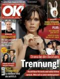 David Beckham, David Beckham and Victoria Beckham, Heidi Klum, Robbie Williams, Victoria Beckham on the cover of Ok (Germany) - November 2009
