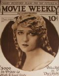 Mary Pickford on the cover of Movie Weekly (United States) - September 1921