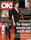 Katie Holmes on the cover of Ok (Germany) - February 2009