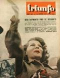 Rita Hayworth on the cover of Triunfo (Spain) - January 1952
