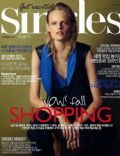 Hanne Gaby Odiele on the cover of Singles (South Korea) - October 2013