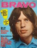 Mick Jagger on the cover of Bravo (Germany) - March 1970
