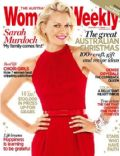Sarah Murdoch on the cover of Womens Weekly (Australia) - December 2011
