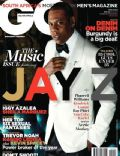 Jay-Z on the cover of Gq (South Africa) - May 2014