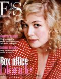 Rosamund Pike on the cover of Es Magazine (United Kingdom) - June 2003