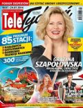Grazyna Szapolowska on the cover of Tele Tydzie (Poland) - July 2014