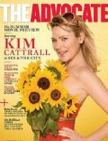 Kim Cattrall on the cover of The Advocate (United States) - May 2008