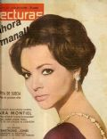 Sara Montiel on the cover of Lecturas (Spain) - April 1962