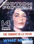 Elizabeth Taylor on the cover of Motion Picture (United States) - June 1961