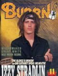 Izzy Stradlin on the cover of Burrn (Japan) - November 1992