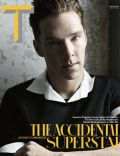 Benedict Cumberbatch on the cover of New York Times Style (United States) - March 2014