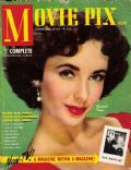 Elizabeth Taylor on the cover of Movie Pix (United States) - March 1949
