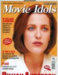 Gillian Anderson on the cover of Movie Idols (United Kingdom) - August 1998