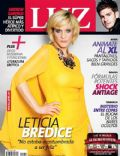 Leticia Brédice on the cover of Luz (Argentina) - April 2014
