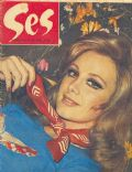 Filiz Akin on the cover of Ses (Turkey) - April 1973