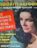 Elizabeth Taylor on the cover of Modern Screen (United States) - May 1965
