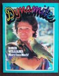 Robin Williams on the cover of Dynamite (United States) - June 1979