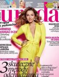 Malgorzata Socha on the cover of Uroda (Poland) - April 2013