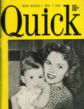 Shirley Temple on the cover of Quick (United States) - November 1949