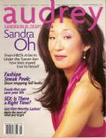 Sandra Oh on the cover of Audrey (United States) - August 2003