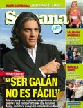 Pablo Echarri on the cover of Semana (Argentina) - July 2007