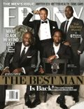 Harold Perrineau, Taye Diggs, Terence Howard on the cover of Ebony (United States) - November 2013