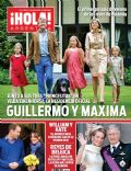 Prince Willem-Alexander, Princess Alexia of the Netherlands, Princess Ariane of the Netherlands, Princess Catharina-Amalia of the Netherlands, Princess Máxima of the Netherlands on the cover of Hola (Argentina) - July 2013