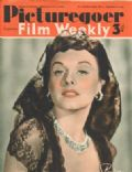 Paulette Goddard on the cover of Picturegoer (United Kingdom) - September 1940