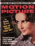 Elizabeth Taylor on the cover of Motion Picture (United States) - May 1965