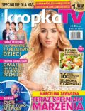 Marcelina Zawadzka on the cover of Kropka TV (Poland) - July 2014