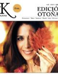 Laura Novoa on the cover of Ak Magazine (Argentina) - April 2012