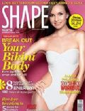 on the cover of Shape (Malaysia) - September 2011