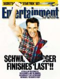 Arnold Schwarzenegger on the cover of Entertainment Weekly (United States) - June 1993