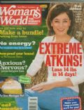 Moira Kelly on the cover of Womans World (United States) - February 2005