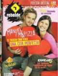 Camila Bordonaba, Felipe Colombo, Felipe Colombo and Camila Bordonaba on the cover of Super Pop (Argentina) - February 2007