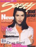 Neve Campbell on the cover of Sassy (United States) - June 1996
