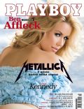 Kennedy Summers on the cover of Playboy (Czech Republic) - March 2014