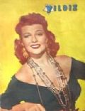 Rita Hayworth on the cover of Yildiz (Turkey) - February 1949