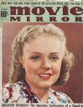 Alice Faye on the cover of Movie Mirror (United States) - December 1938