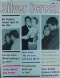 Janet Leigh, Tony Curtis on the cover of Silver Screen (United States) - June 1961