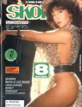 Marina Marfoglia on the cover of Skorpio (Italy) - October 1987