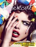Eva Doll on the cover of Papercut (United States) - September 2010