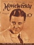 Richard Dix on the cover of Movie Weekly (United Kingdom) - October 1924